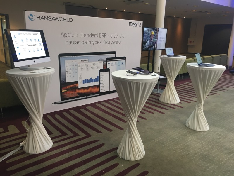 HansaWorld, iDeal stand at Business 18