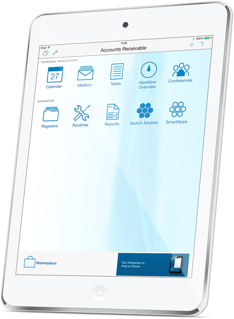 Standard ERP — integrated business software by HansaWorld