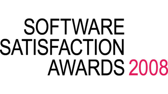 2008 Software Satisfaction Awards