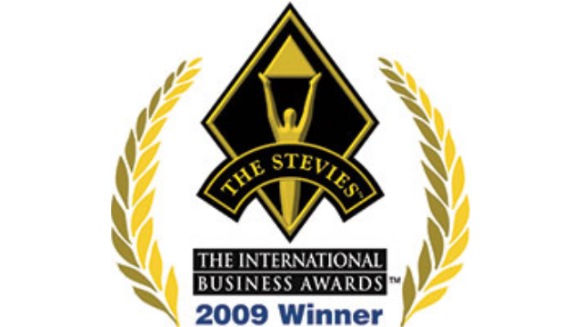 2009 Bronze Stevie Award
