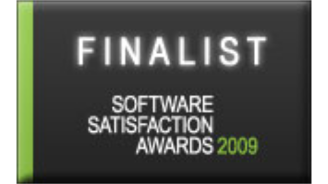 2009 Software Satisfaction Awards